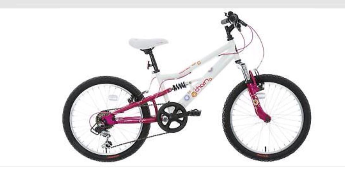 Girls Apollo charm bike 20 inch wheels in Selby for £50.00