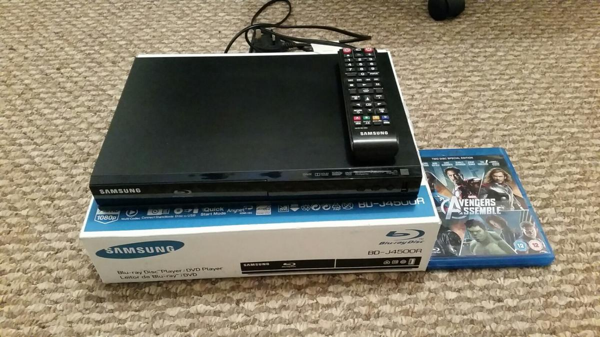Samsung BD-J4500R Bluray Player in WV14 Dudley for £25 00