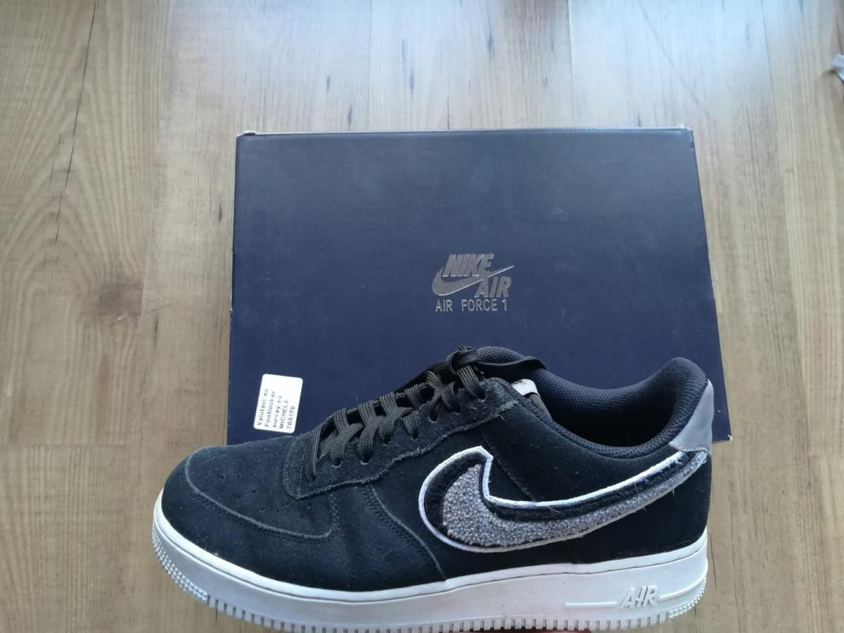 scarpe air force 1 nere