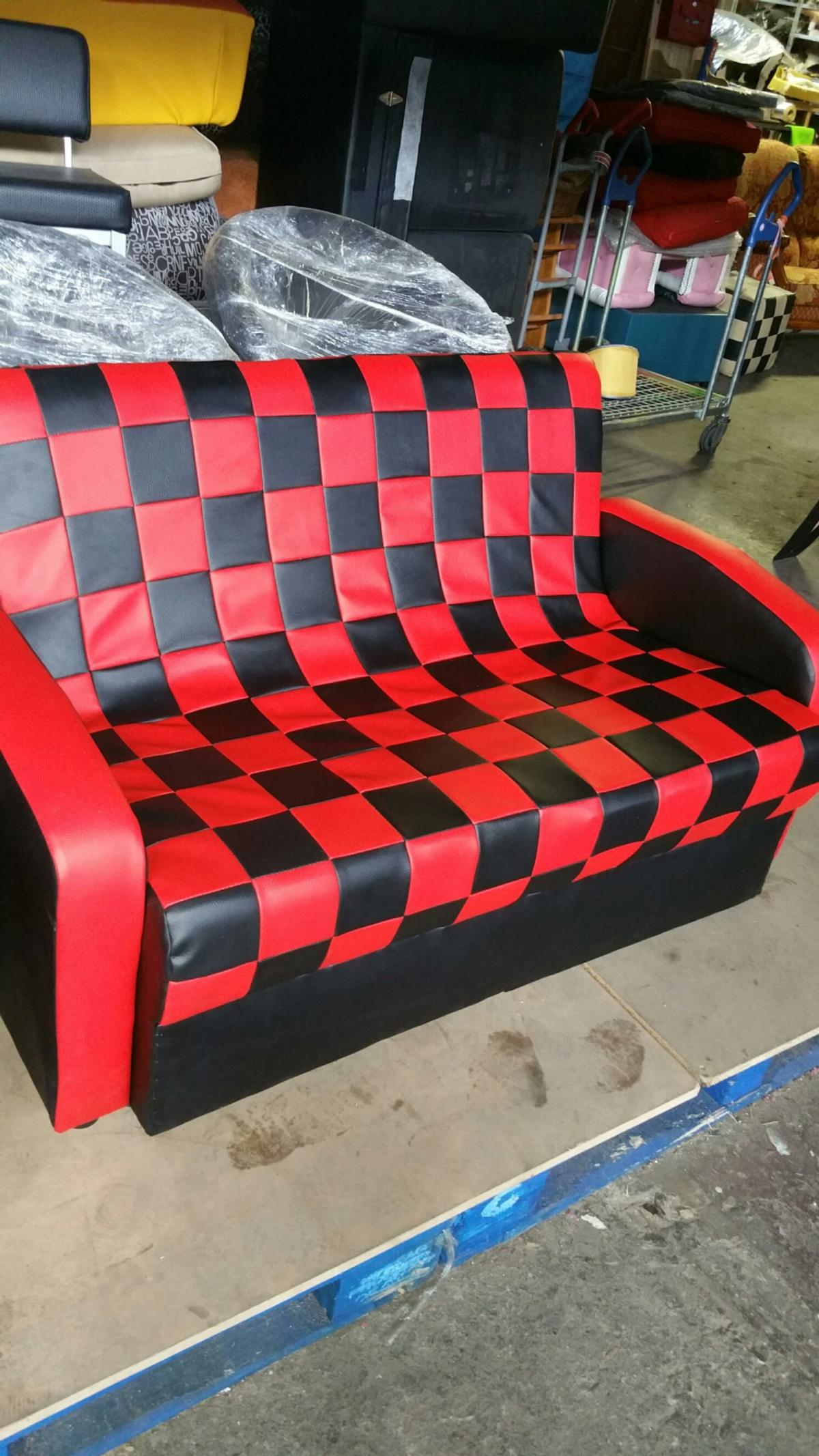 Swell Two Seater Checkered Sofa In Bs2 Bristol For 150 00 For Ncnpc Chair Design For Home Ncnpcorg