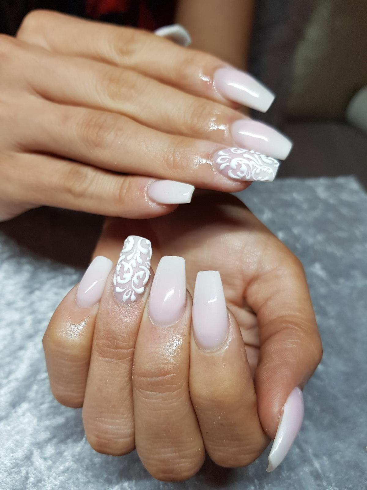 Wedding Nails Acrylic Gel Extensions