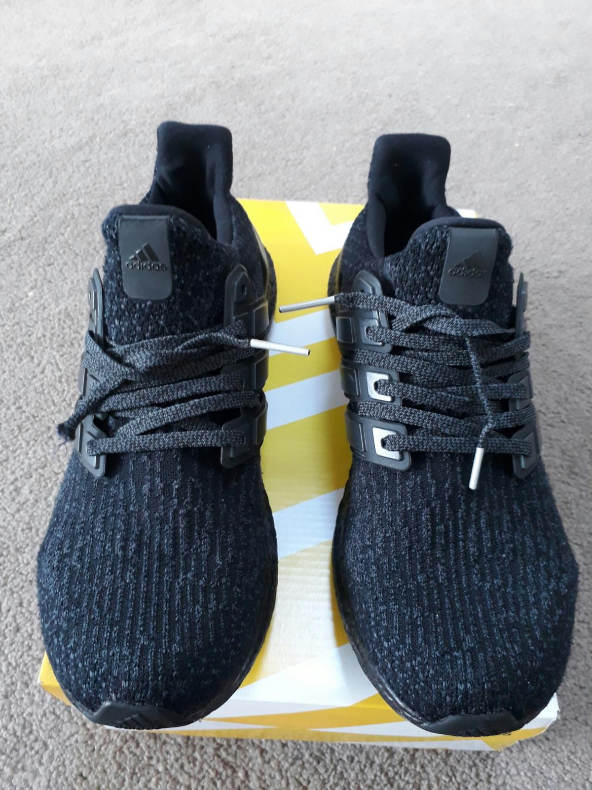 new arrival e5865 83cb4 SIZE 9 ADIDAS ULTRA BOOST 3.0 TRIPLE BLACK in E13 Newham für ...