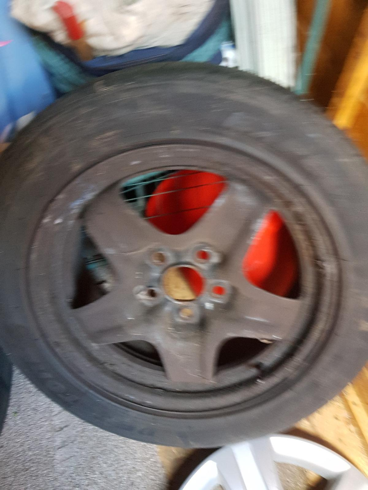 2x 16565x13 tyres on ford steel rims