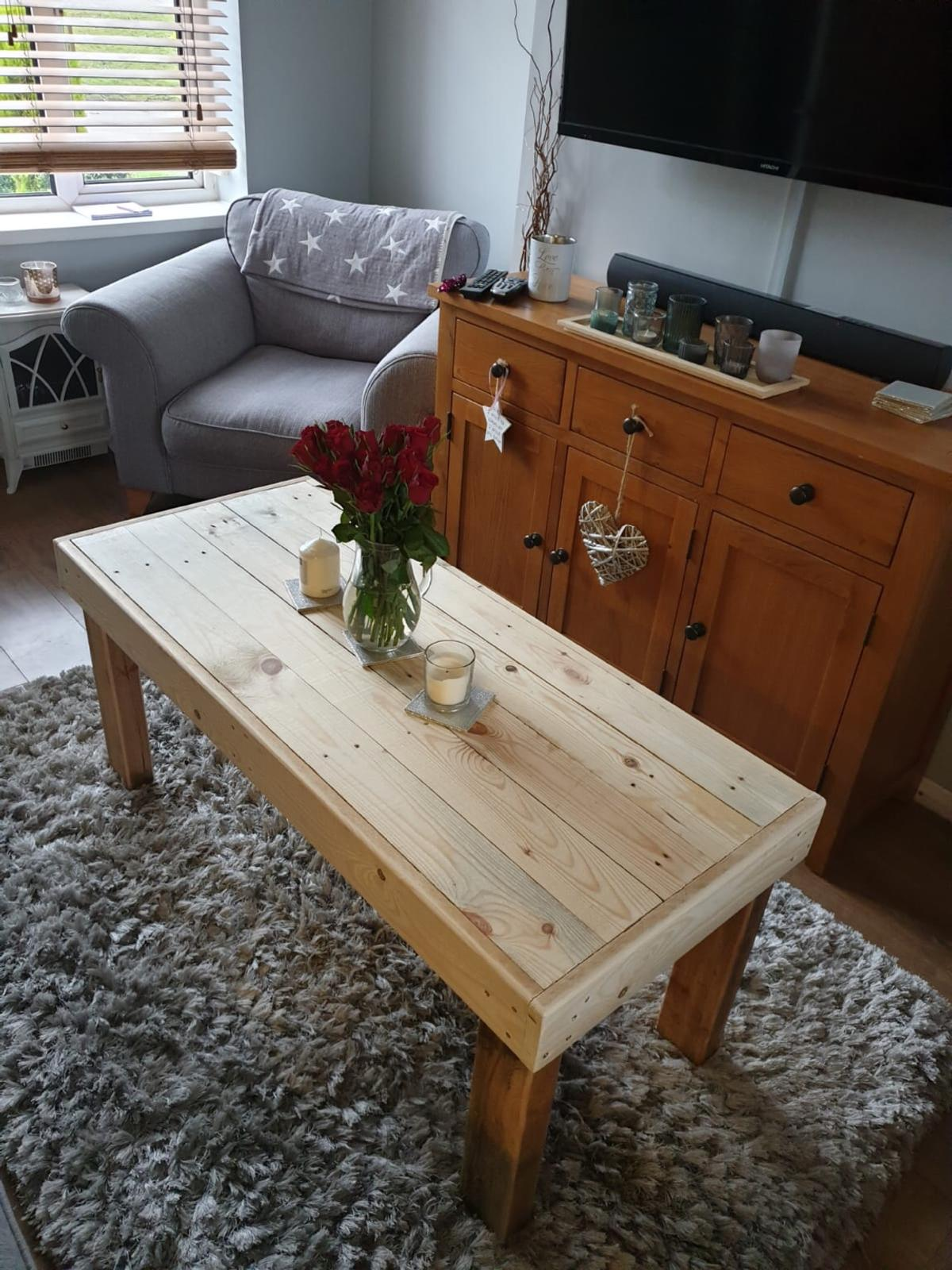Custom Made Coffee Table Pallet Furniture In Cv10 North