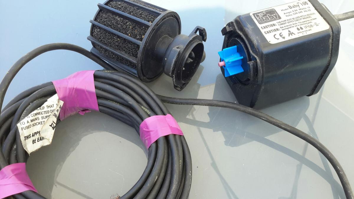 Miraculous Pond Pump 240 Volts In Middlesbrough Fur 22 00 Kaufen Shpock Wiring Cloud Oideiuggs Outletorg