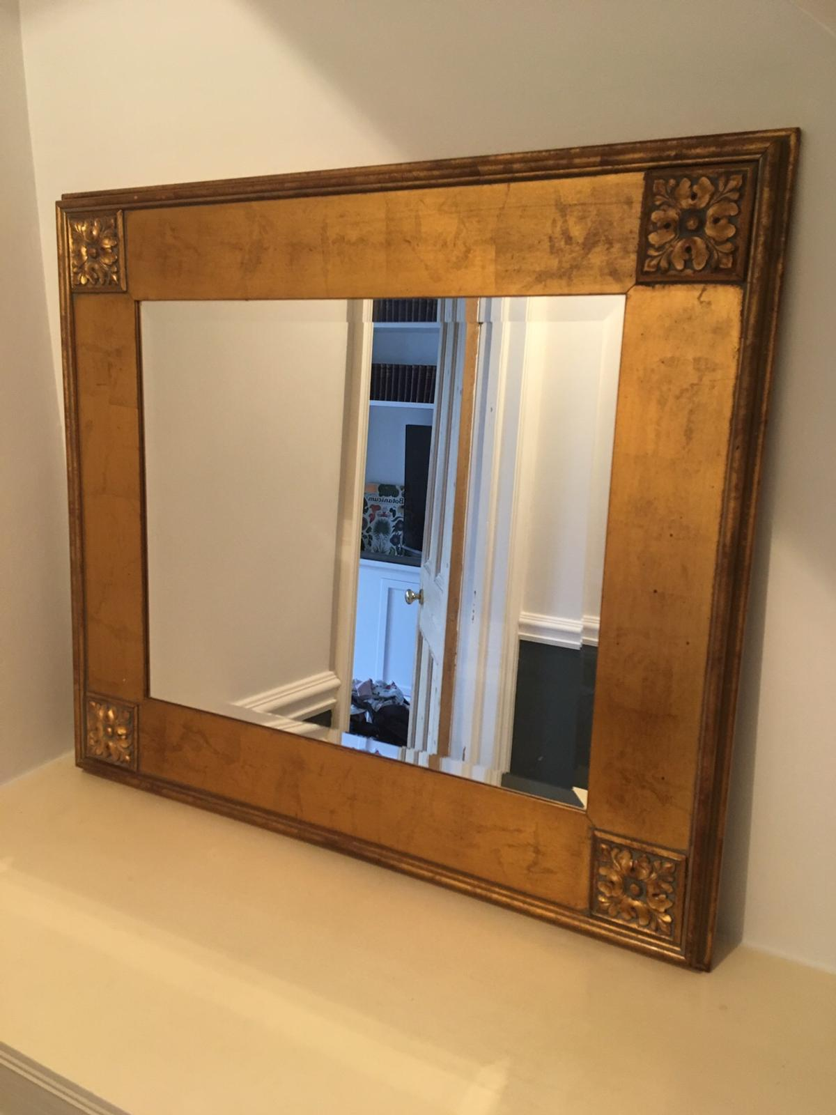 Large Gold Mirror In Tn4 Wells For 40 00 For Sale Shpock