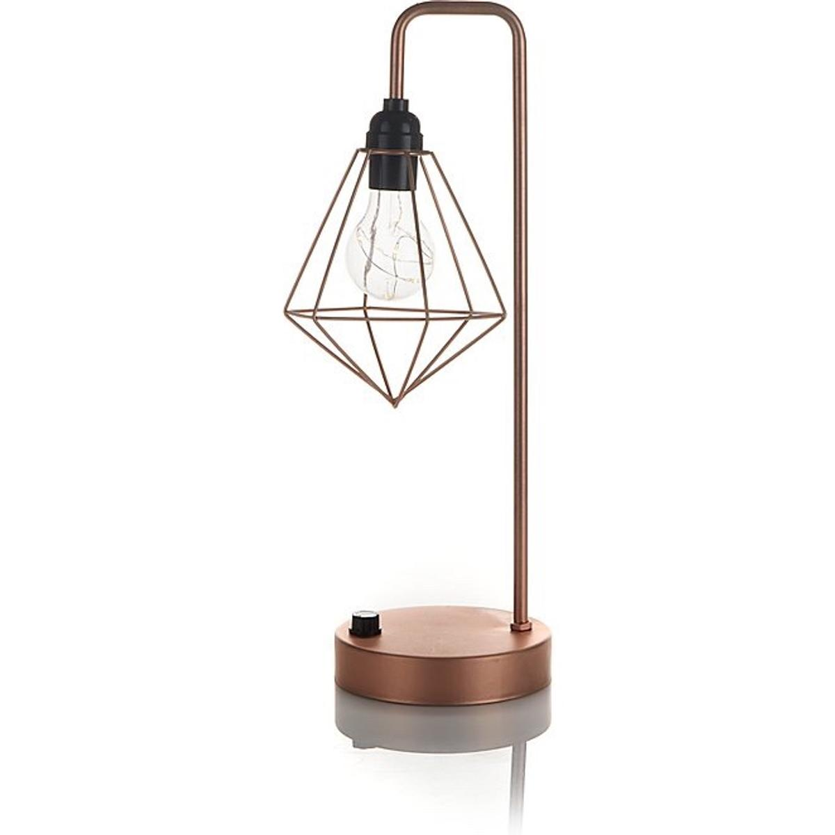 Rose Gold Copper Geometric Table Lamp In Ws14 Lichfield For 12 00 For Sale Shpock