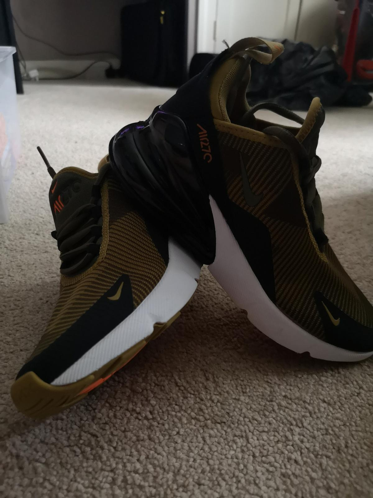 los angeles 297eb 22555 Nike air Max 270 jacquard size 3 junior in CH66 Ellesmere ...