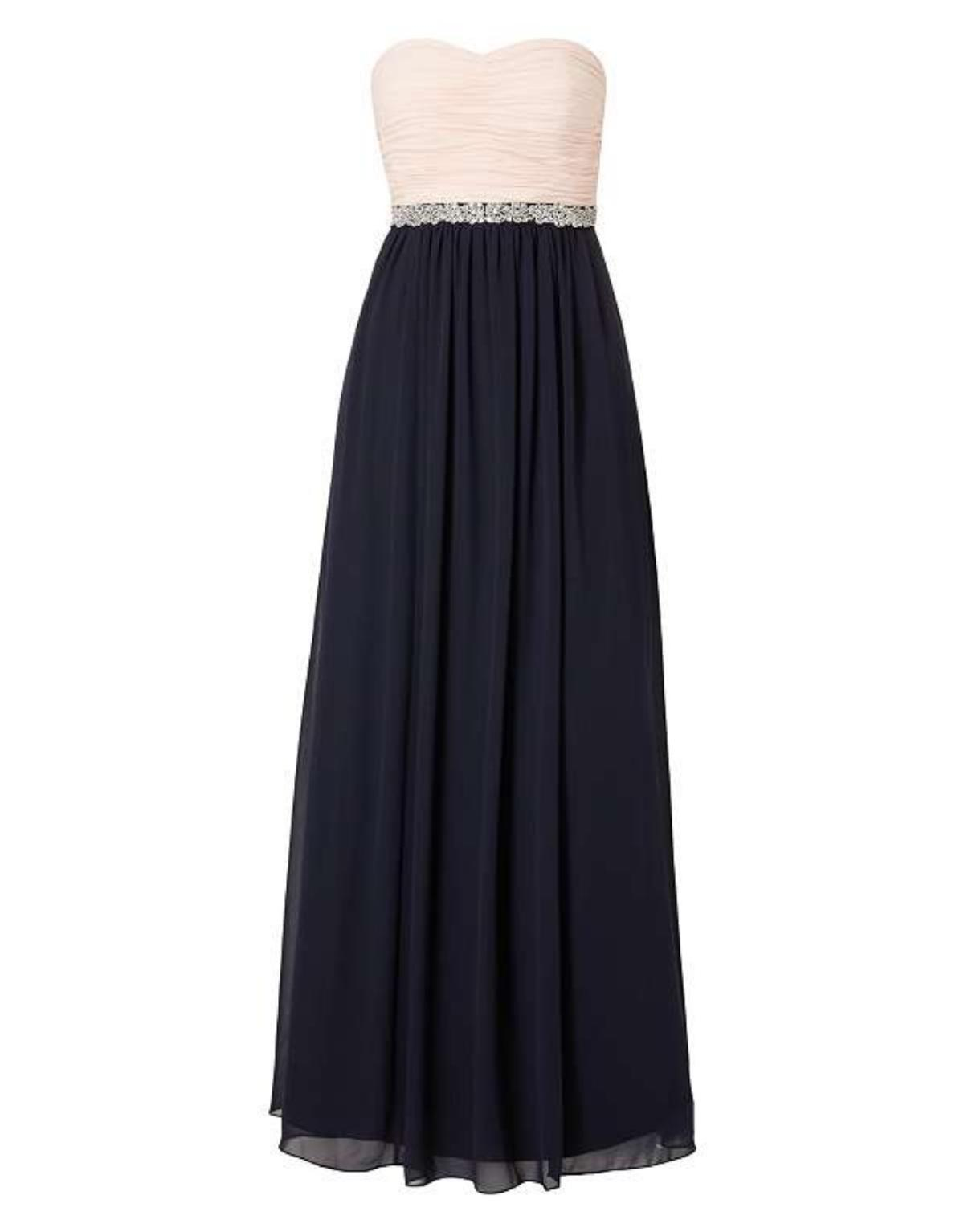 Christian Berg Cocktail Two-Tone Abendkleid a