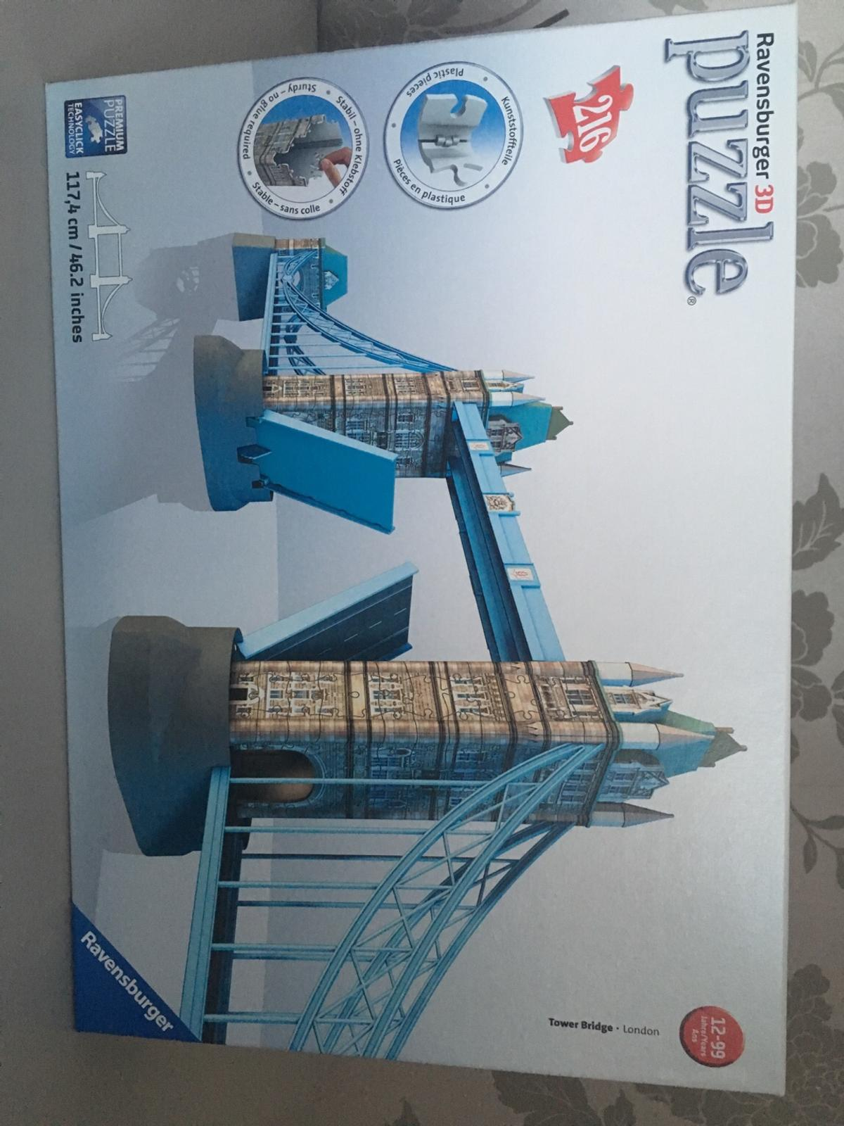 b2797be08 Ravensburger 3D Puzzle Tower Bridge in TN33 Rother for £15.00 for ...