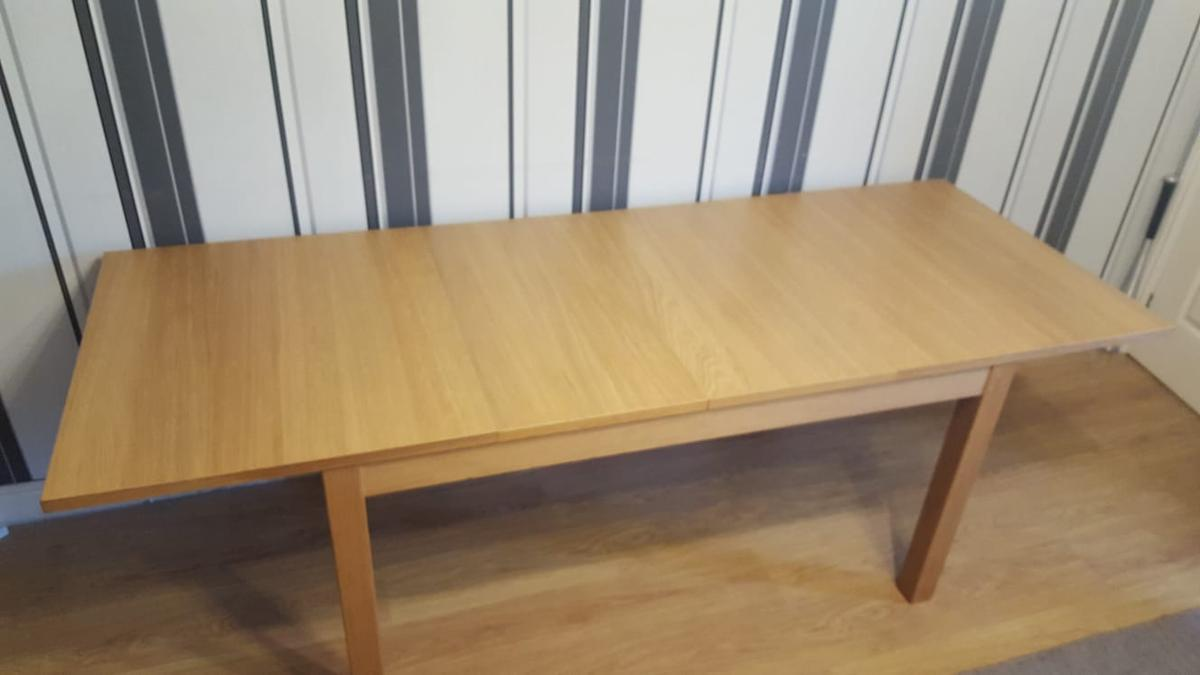 Ikea Extending Dining Table 6 8 10 Places