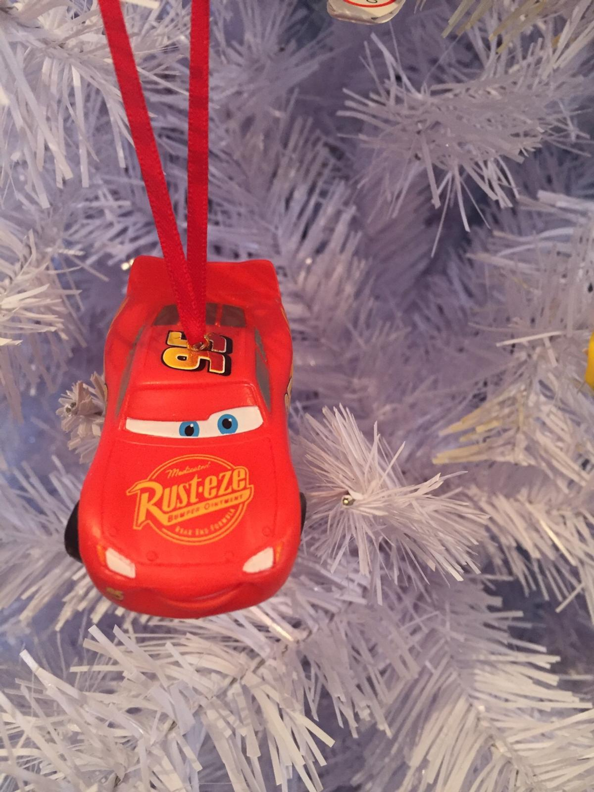 Disney Cars Christmas Decorations.Disney Bullyland Figures Christmas Decoration In De11