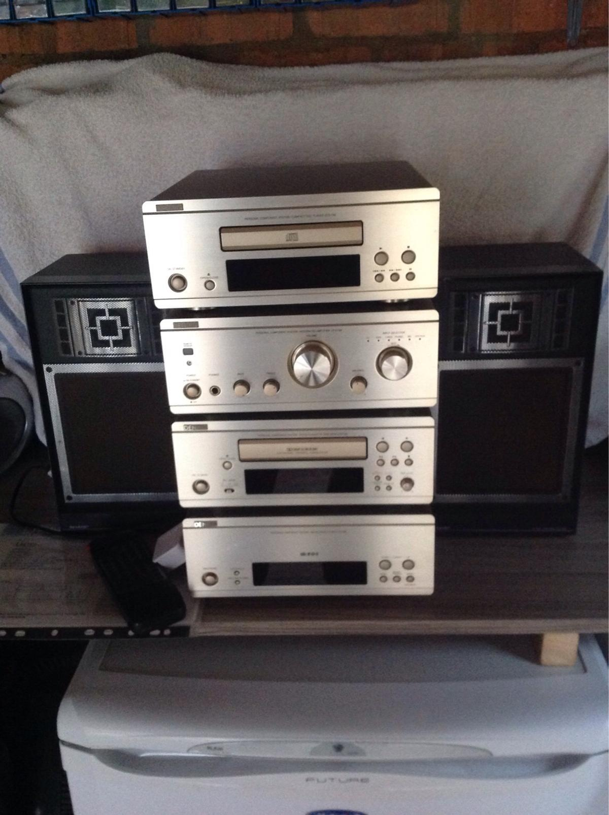 Denon Stack System Separates and Speakers