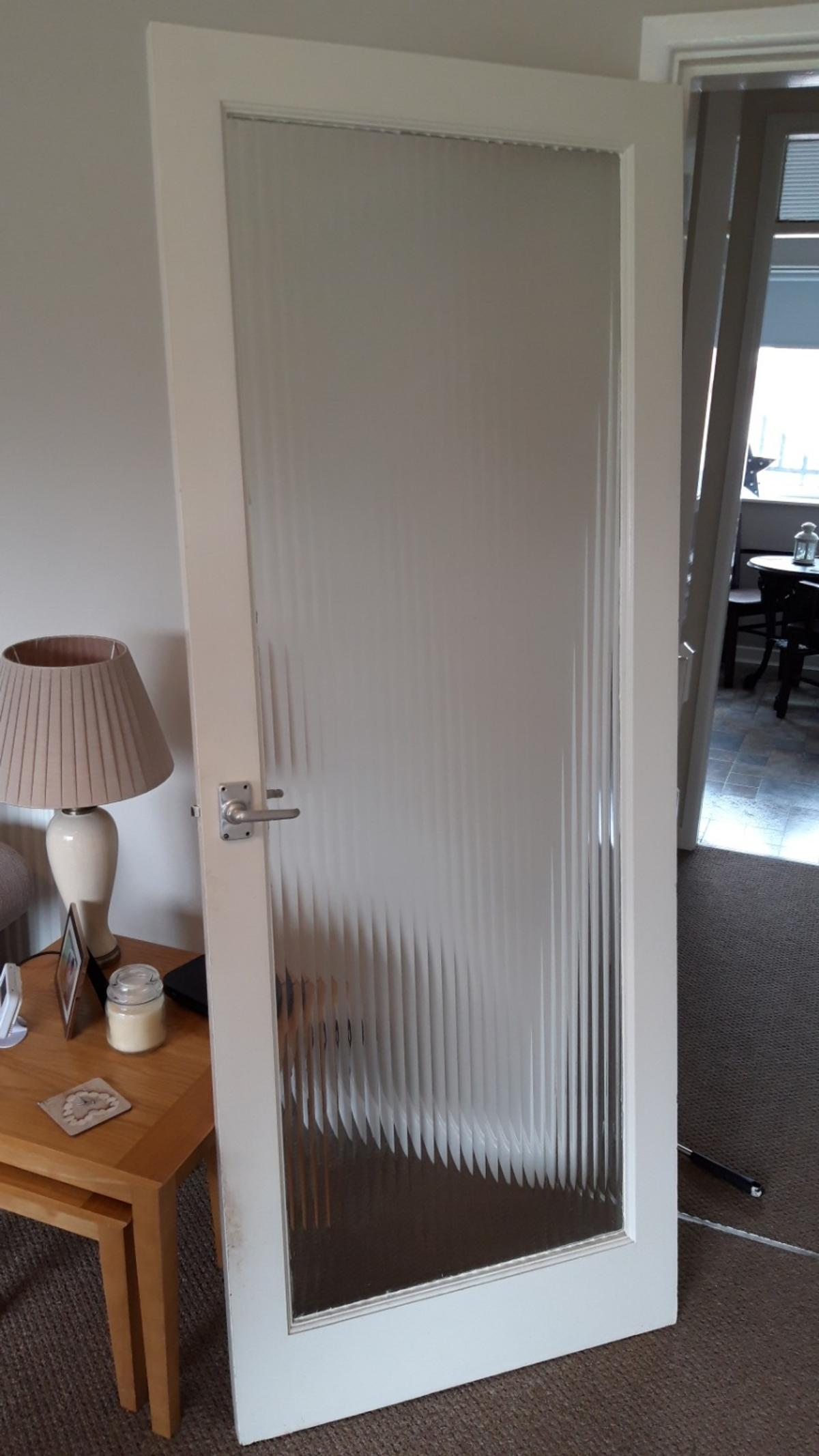 Bon 2 Reeded Glass Doors Free In B62 Dudley For Free For Sale ...