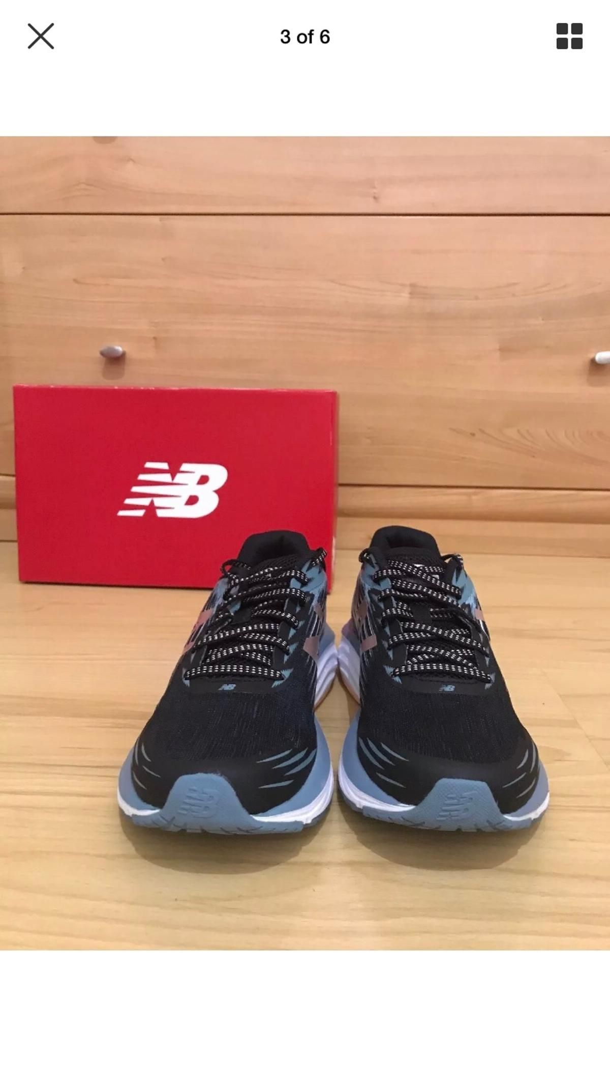 Women's New Balance Blue Synact Trainers UK 6 in EC2A London