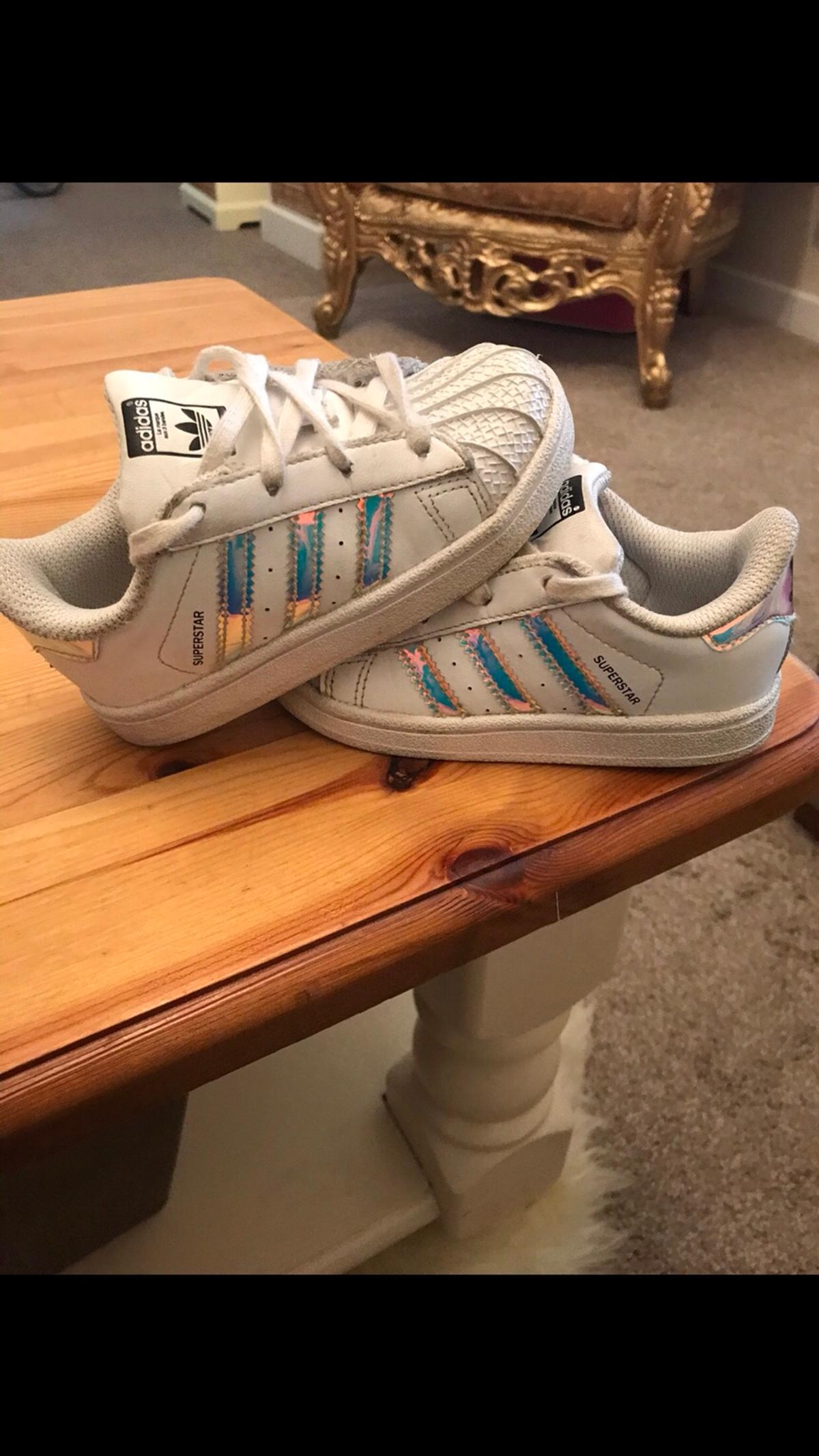 detailing e0571 f2b7c Infant Adidas superstars size 7 in SL6 Green for £15.00 for ...