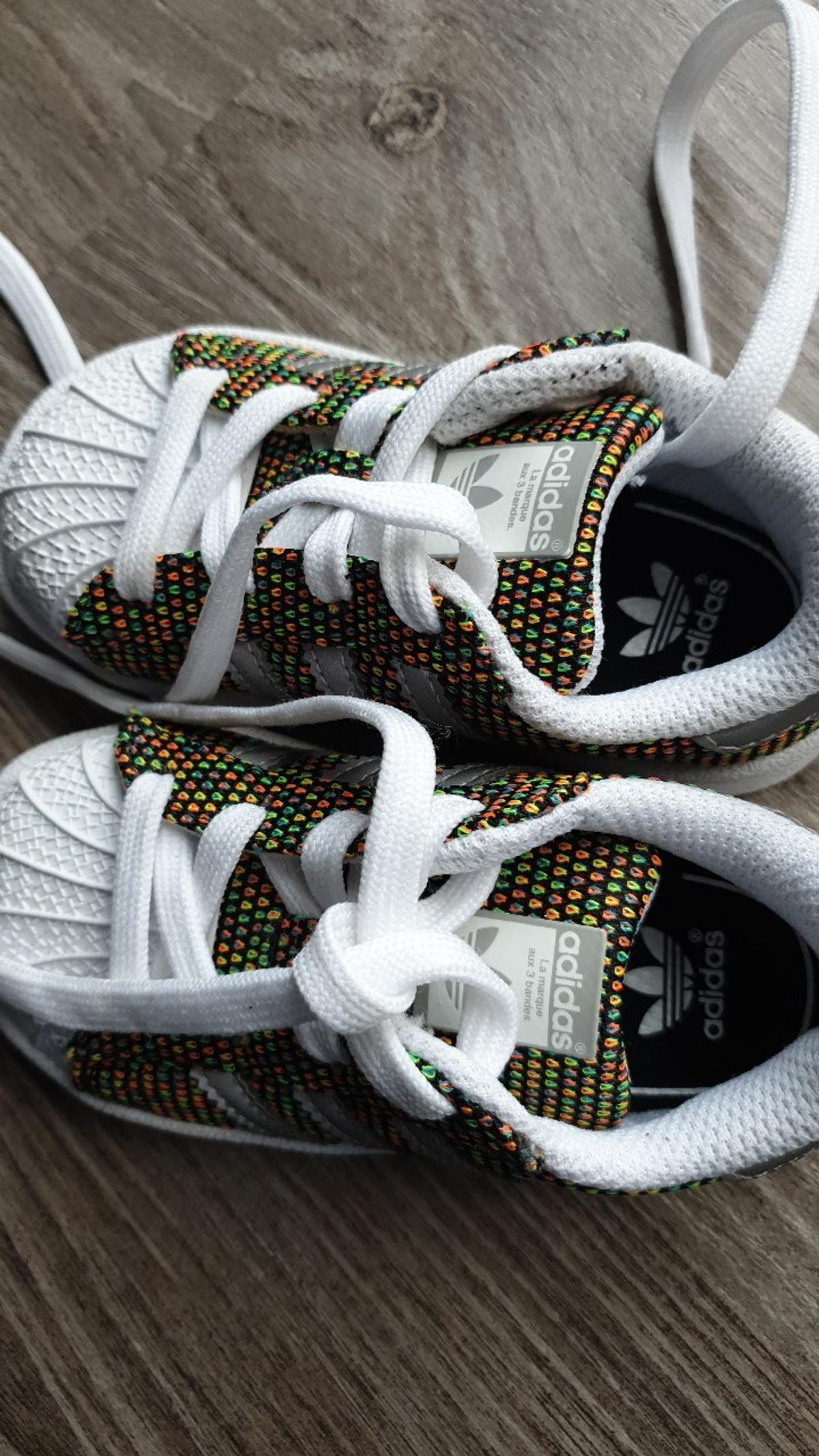 the latest 7d20a 16336 Adidas superstar trainers in Thornley for £22.00 for sale ...