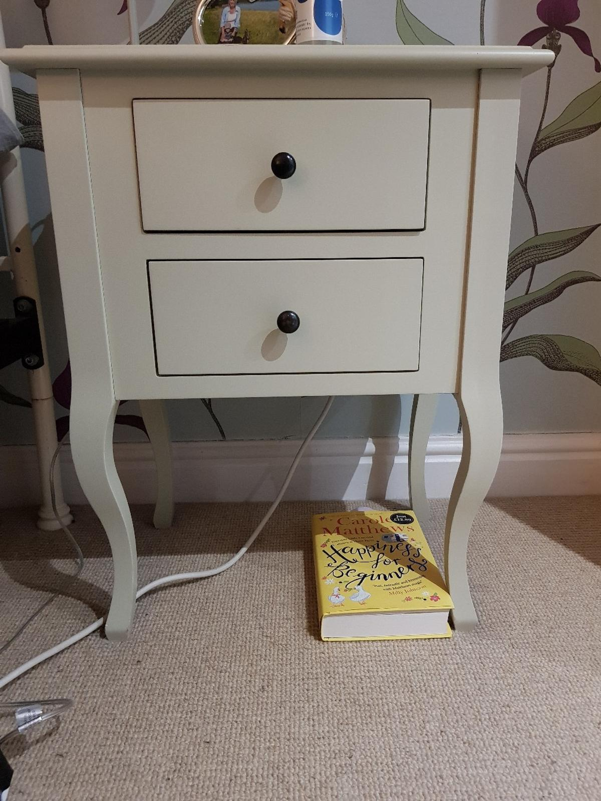 Laura Ashley Bedside Tables X2 In