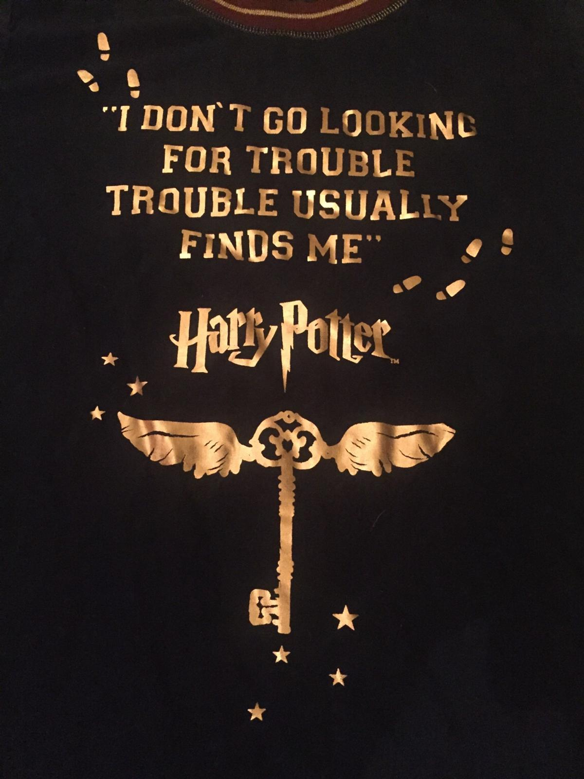 I Dont GO Looking for Trouble IT USALLY Finds ME Harry Potter Baby Vest OR BIB