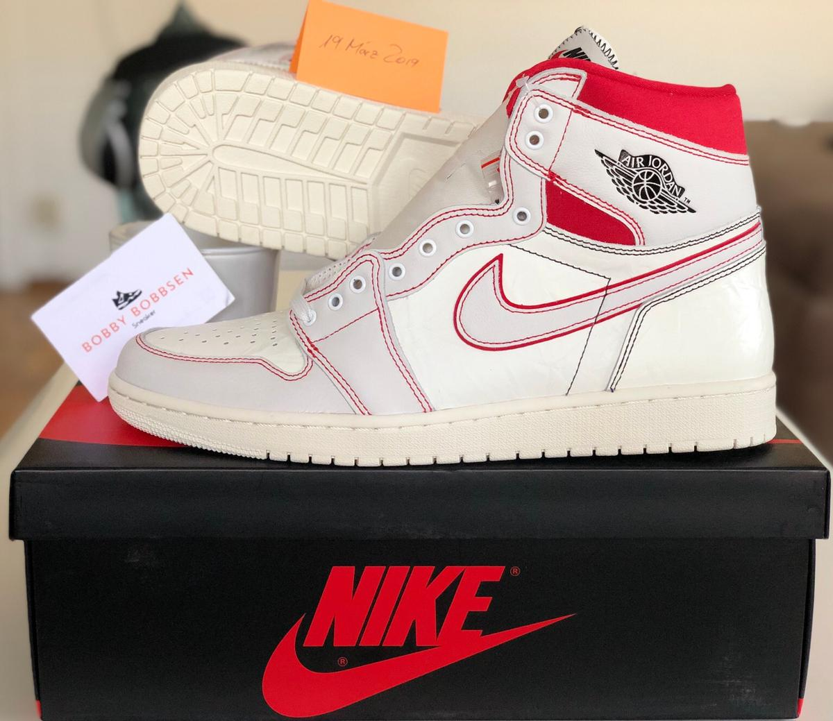 Air Force 1 Air Jordan Sneakers, Nike Schuh cardinal