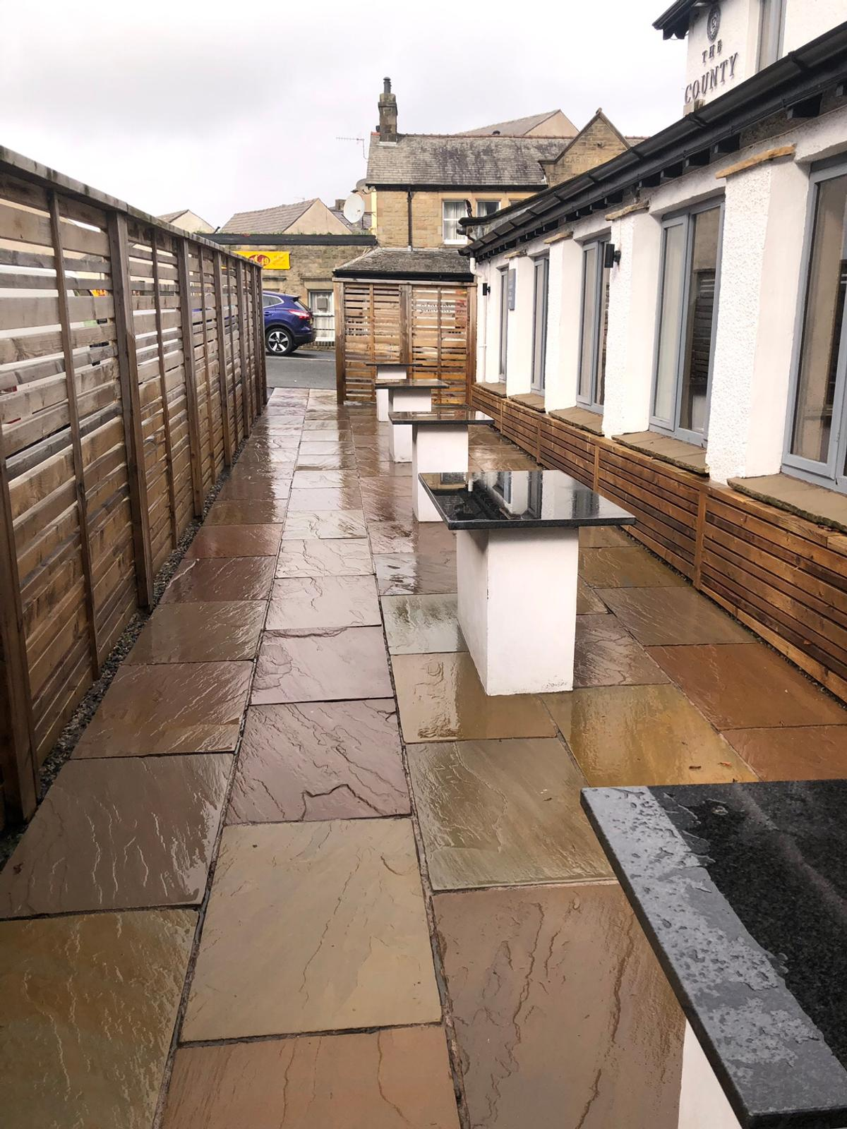 Local friendly reliable service covering the North Lancs , South Cumbria , North Yorkshire Areas for more information and to see previous work undertaken visit our Facebook page Ezi Jet Power Washing Services or give us a call on 07583 567253
