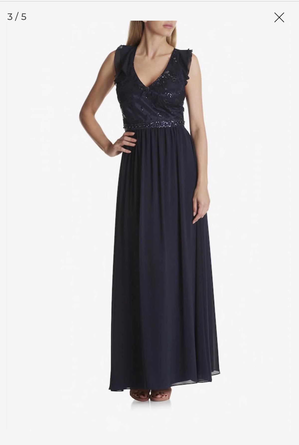 Vera Mont Abendkleid dunkelblau Neu in 12 Berlin for €12.12