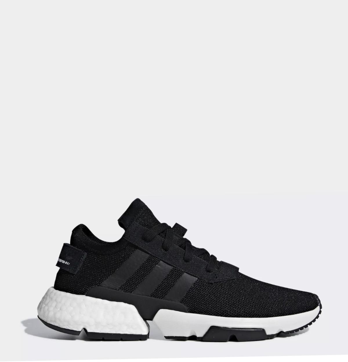 Men's Black Adidas POD s3.1 Trainers UK 9.5 in RG21