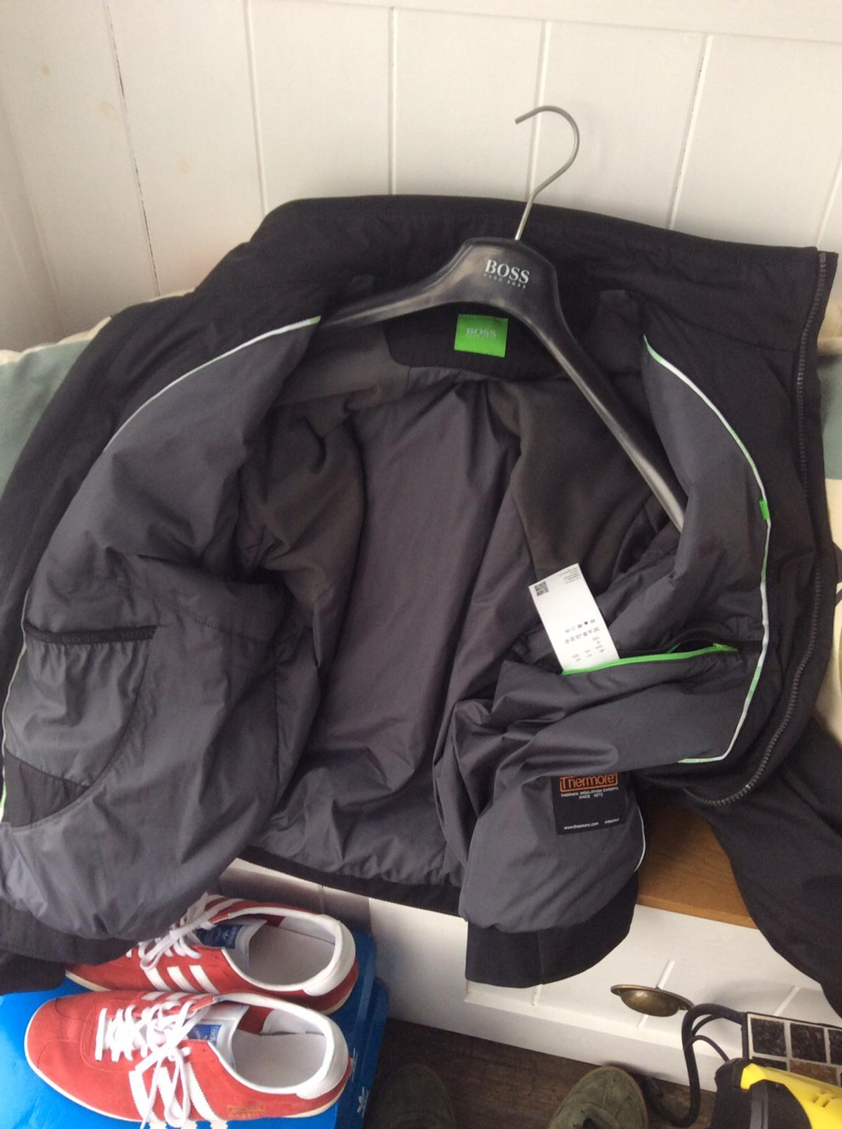 hugo boss thermore jacket