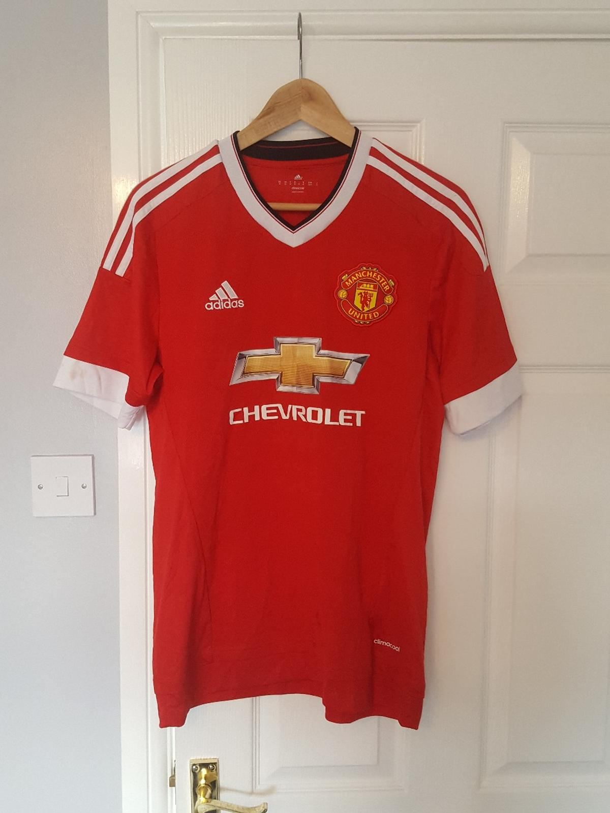 reputable site 9724e 84e07 Man Utd Football Shirt SCHWEINSTEIGER 31 Med