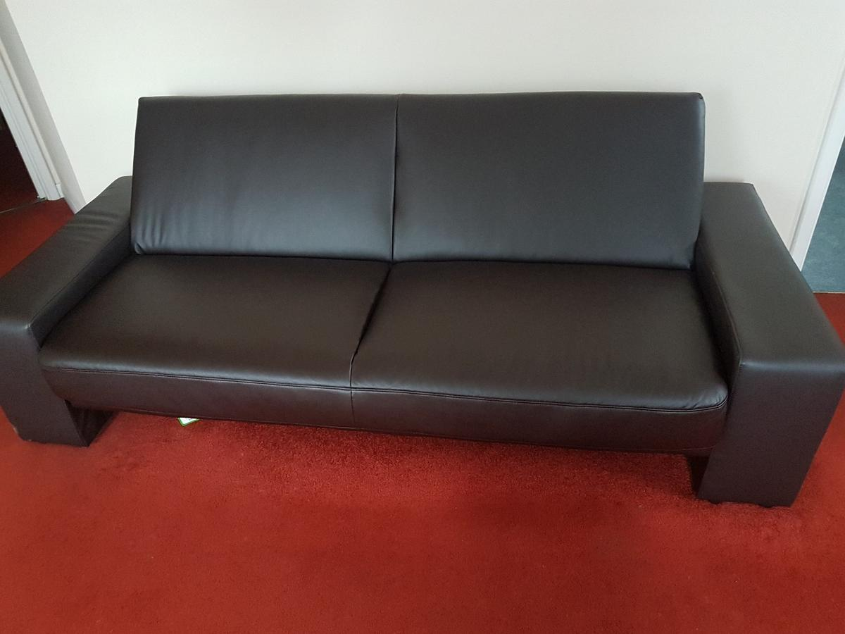 2 Seater Vinyl Sofa Bed In Gloucester