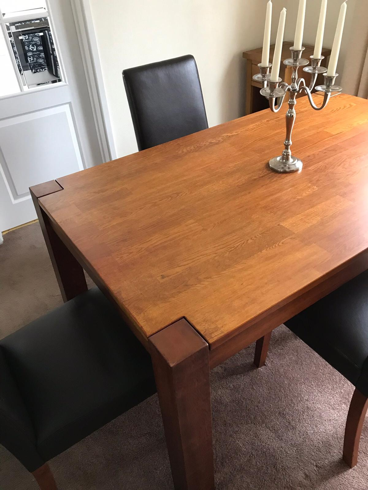 Download Dining Table And Leather Chairs Sale Pictures