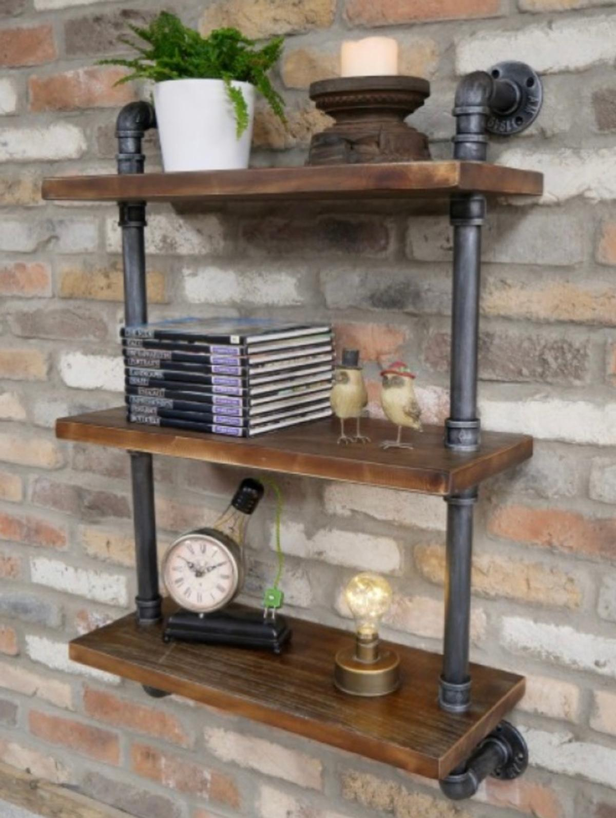New Industrial Vintage Style Wall Shelf Unit In Doncaster For 90 00 For Sale Shpock