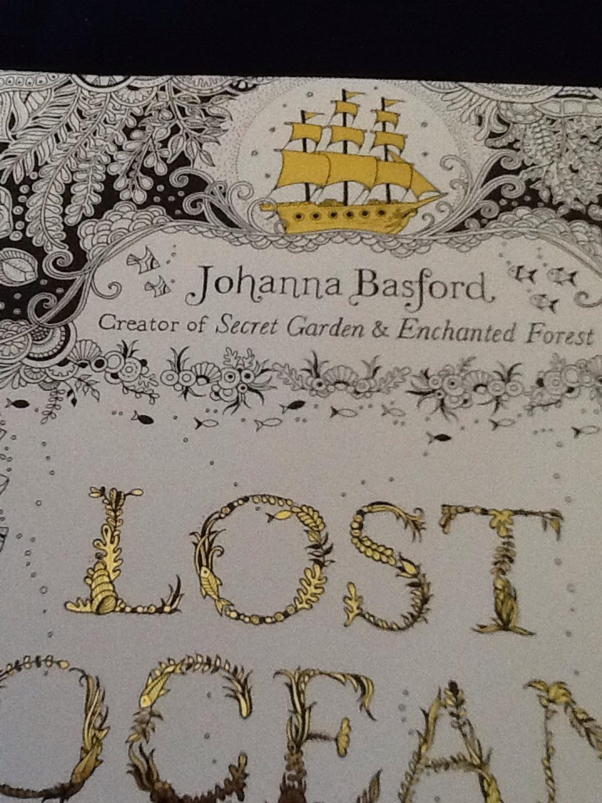 Johanna basford colouring book