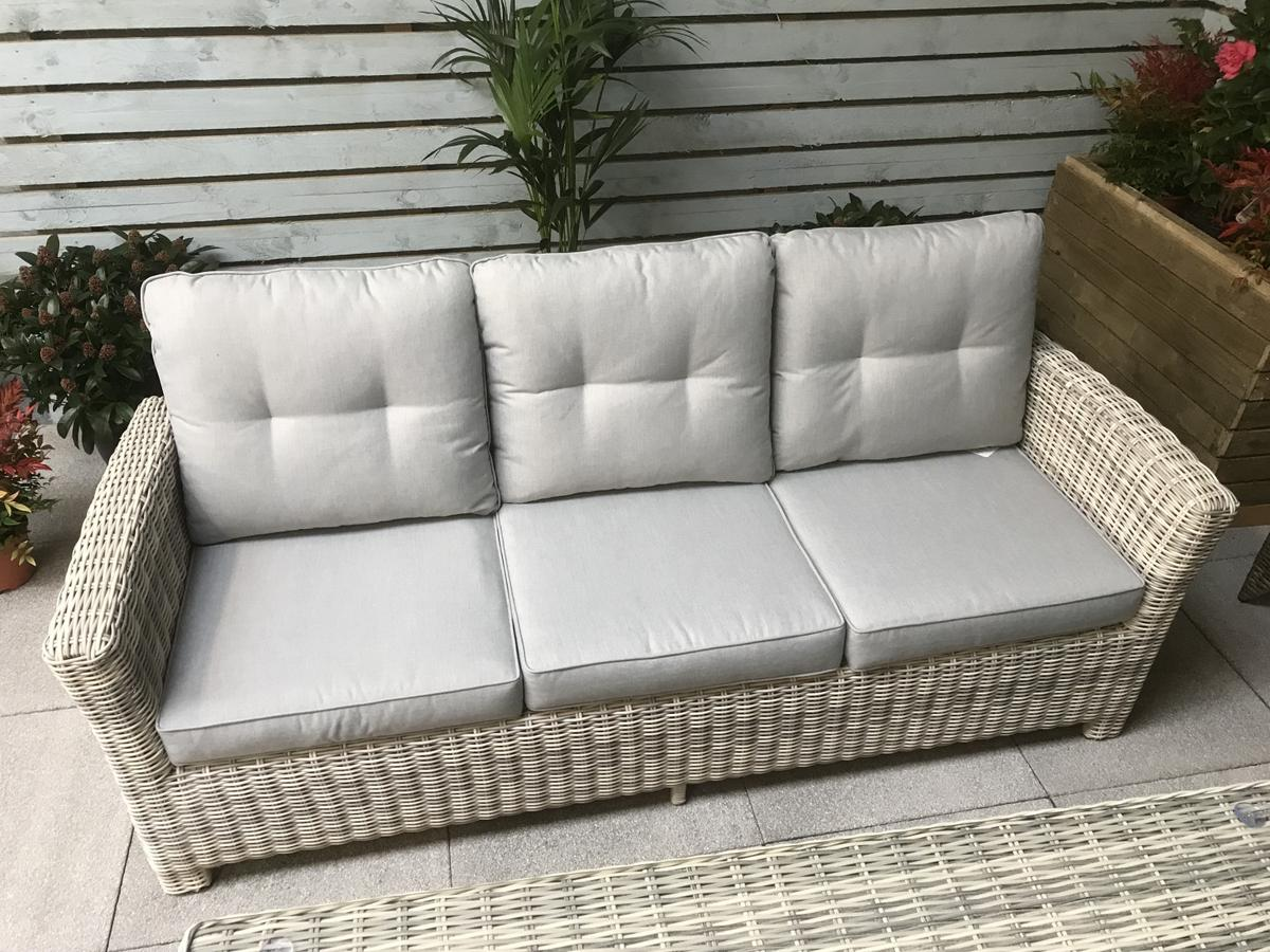 Rattan Garden furniture Amy sofa set in S10 Rotherham for