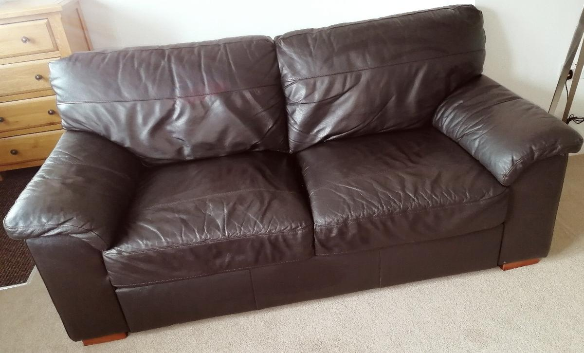 Miraculous Next Leather Sofa X2 In Nn1 Northampton For 220 00 For Sale Pdpeps Interior Chair Design Pdpepsorg