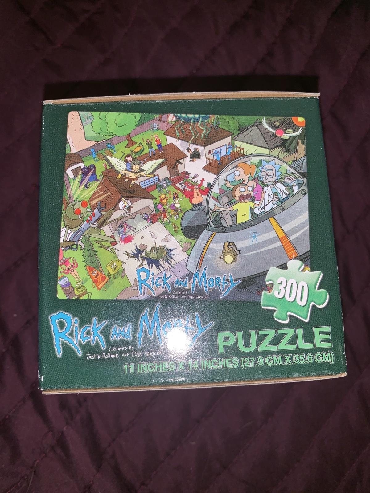 Rick and Morty Puzzle 300 Pieces