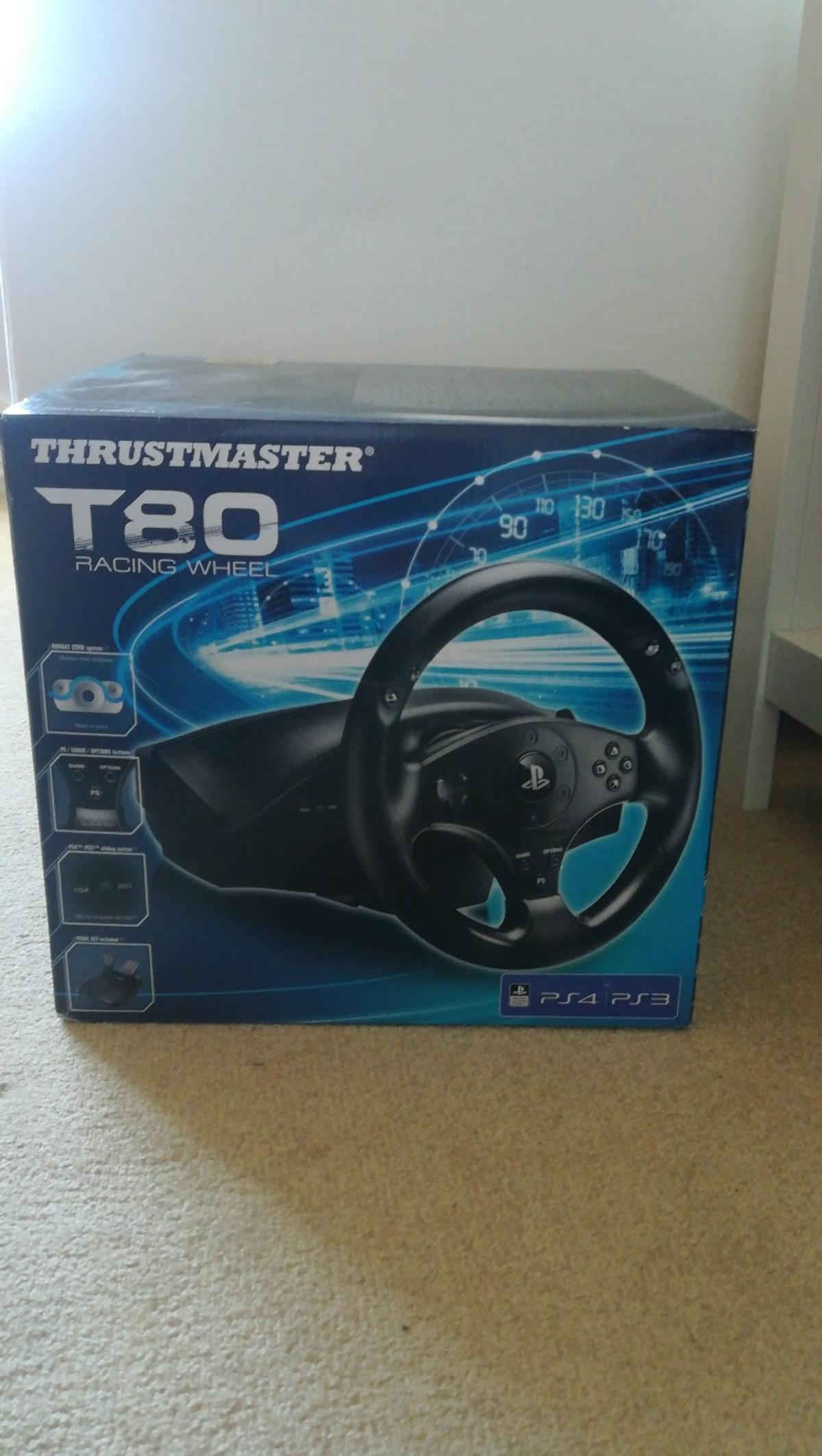 Thrustmaster T80 Racing wheel in B69 Sandwell for £35 00 for