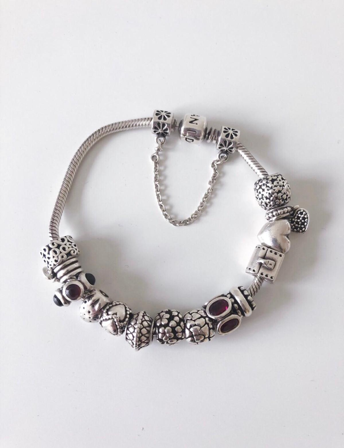 Pandora Bracelet Genuine With 14 Charms In Wigan For 105 00 For Sale Shpock