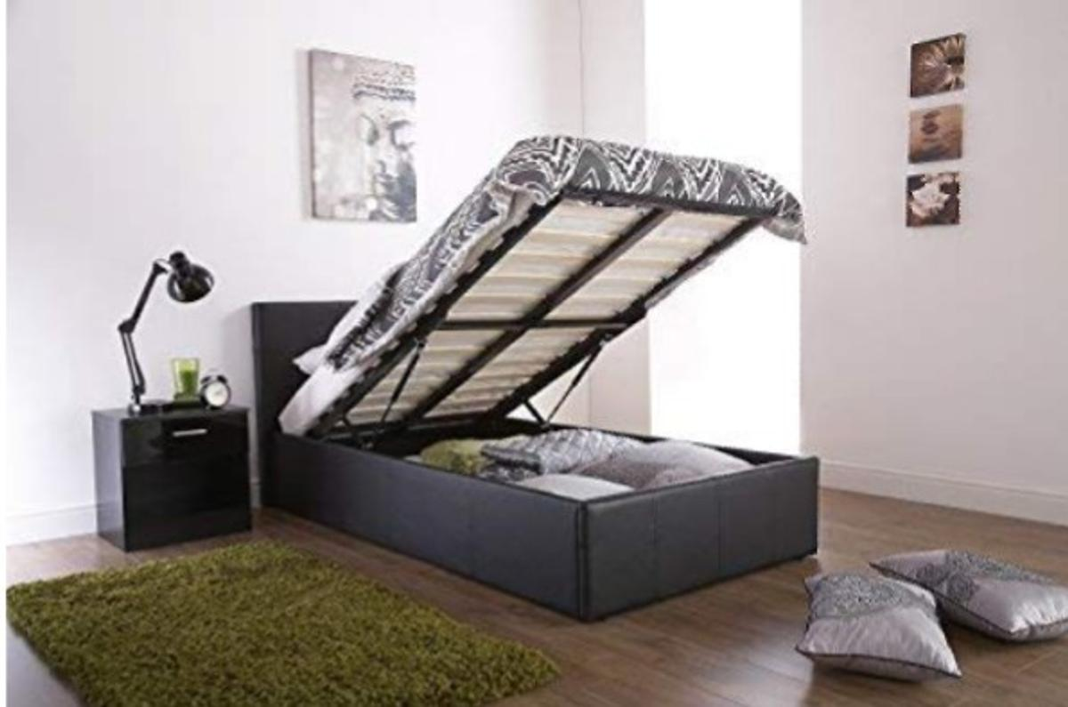 Image of: King Size Ottoman Bed Frame Collection Only In E1 Hamlets For 150 00 For Sale Shpock