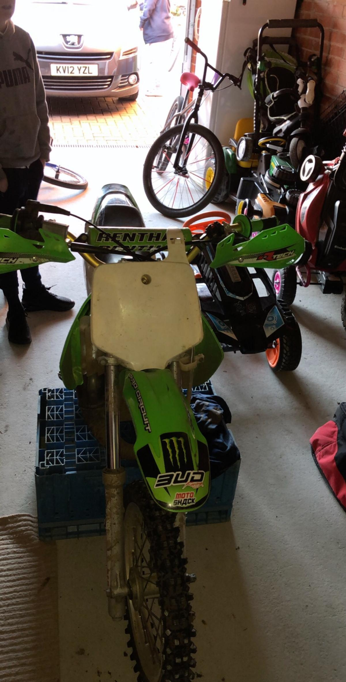 Kx65 racetuned to 85