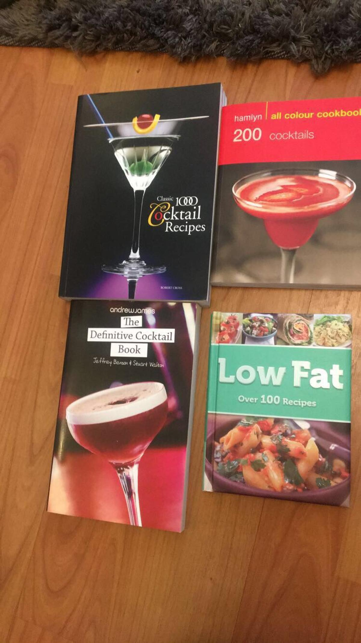 Cocktail And Food Book Bundle