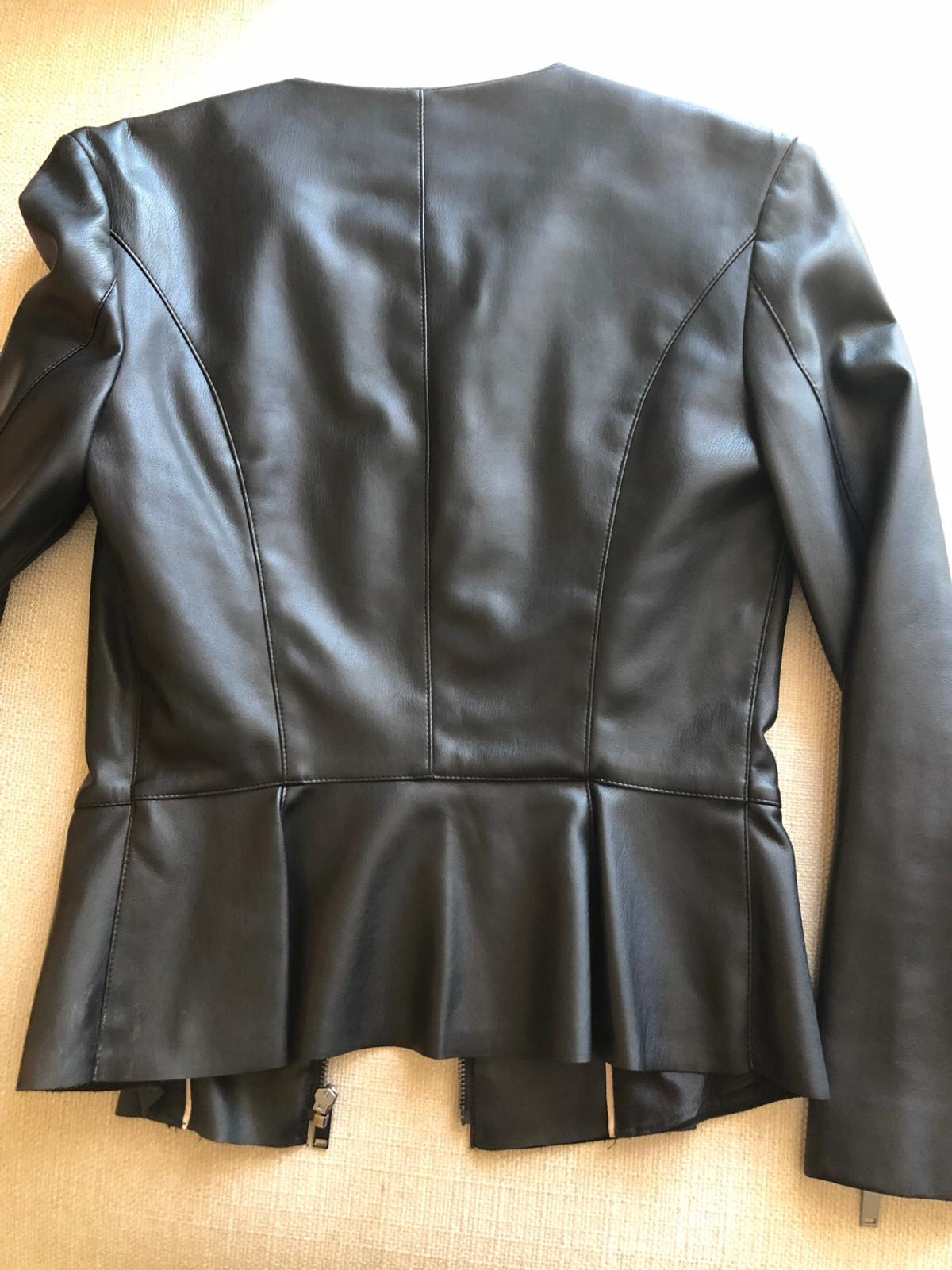 reputable site 40a08 13f7a Giacca ecopelle Zara donna