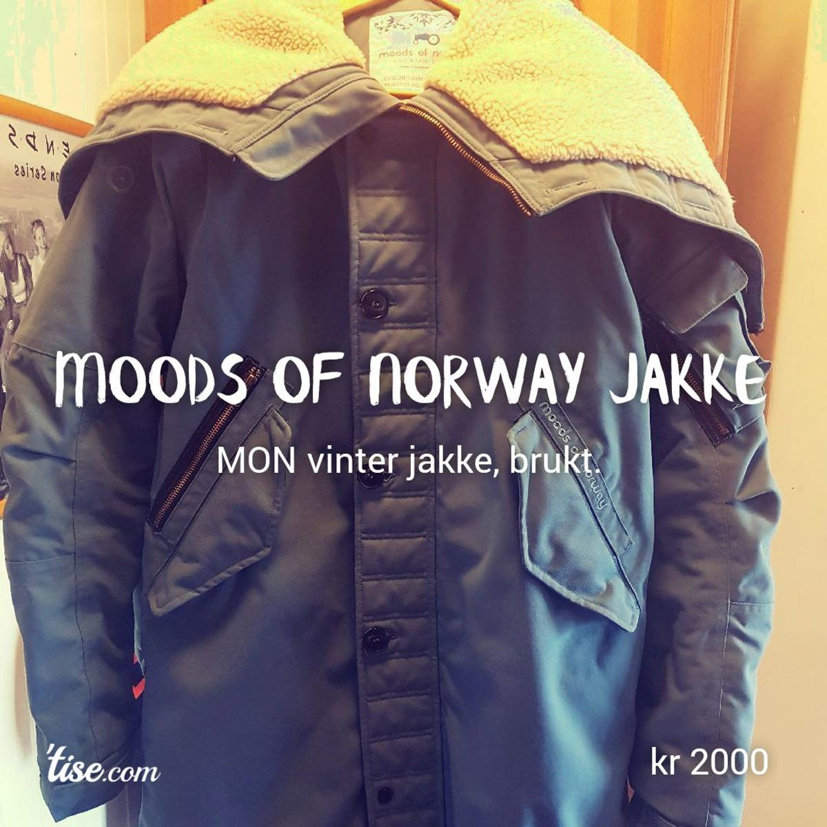 8a6849ab Moods Of Norway vinter jakke. in 1850 Mysen for NOK 1,500.00 for ...