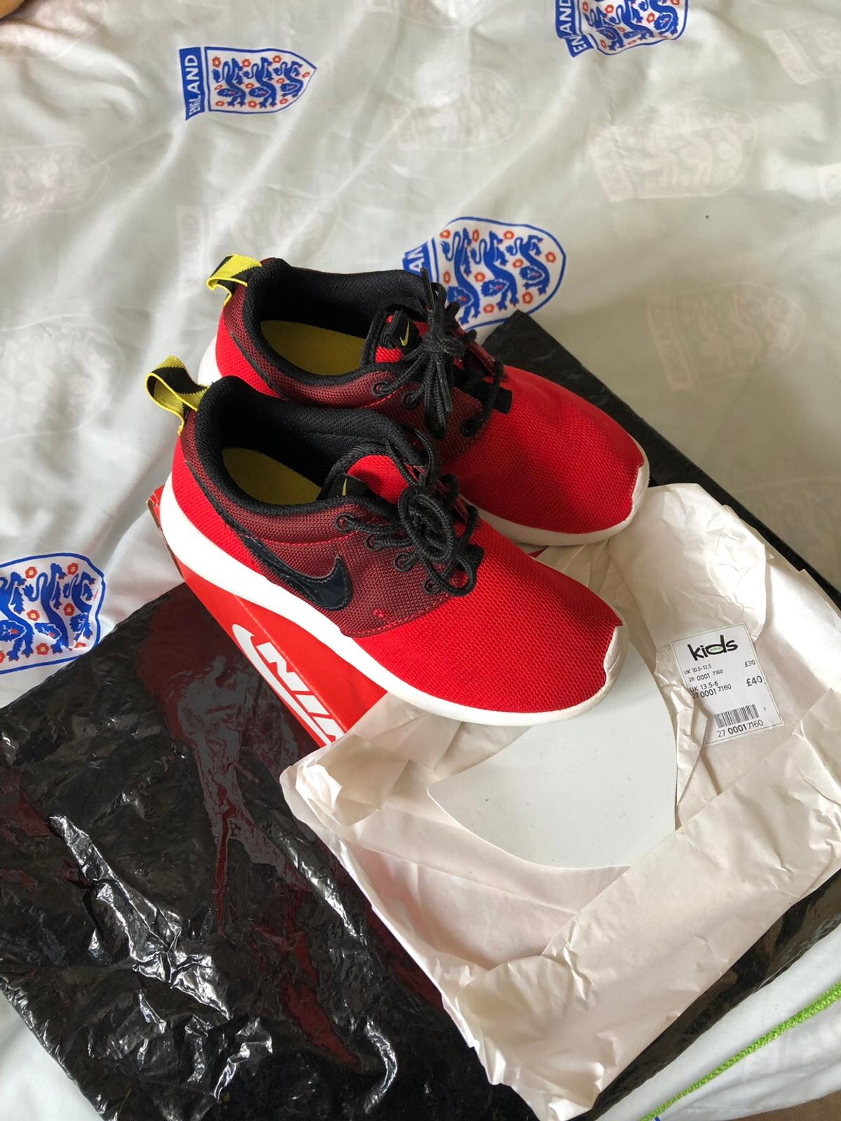 77a5f9997199 Red Nike Roshe trainers size 13.5 in WV12 Walsall for £20.00 for ...