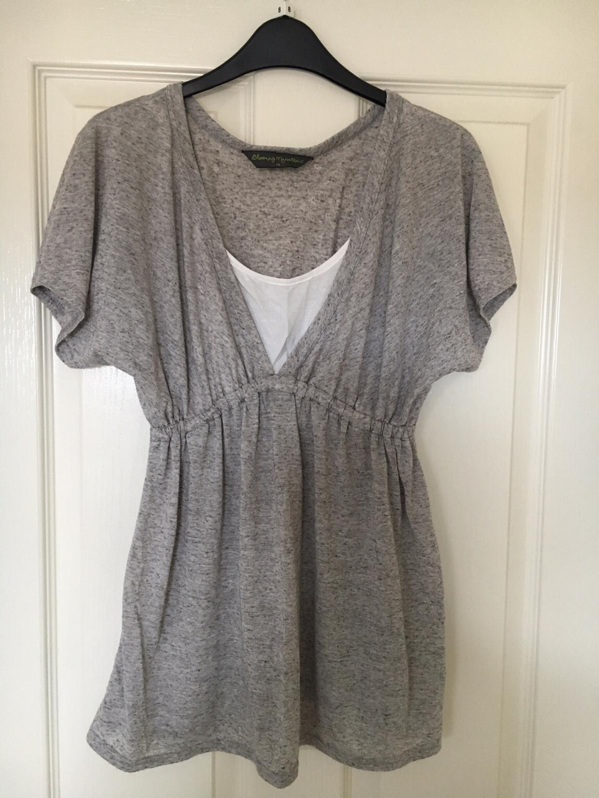 8c67bdbfd24c3 Breastfeeding Tops x2 in SG18 Langford for £5.00 for sale - Shpock