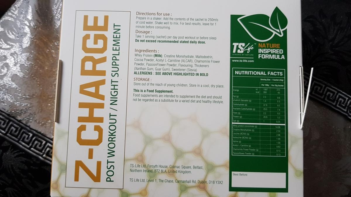 Vitamins & Dietary Supplements Appetite Control, Suppressants Lose Weight While You Sleep 1 Week Supply Ts Life Z-charge