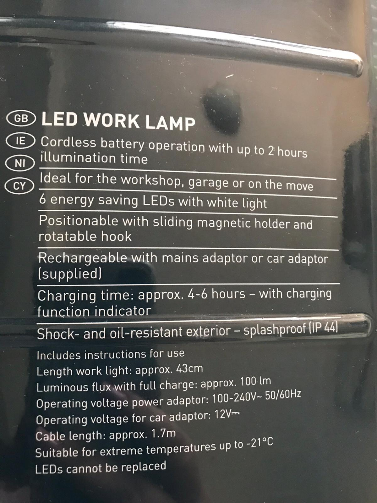 Livarno Led Work Lamp In Cv11 Nuneaton And Bedworth For 12 00 For Sale Shpock