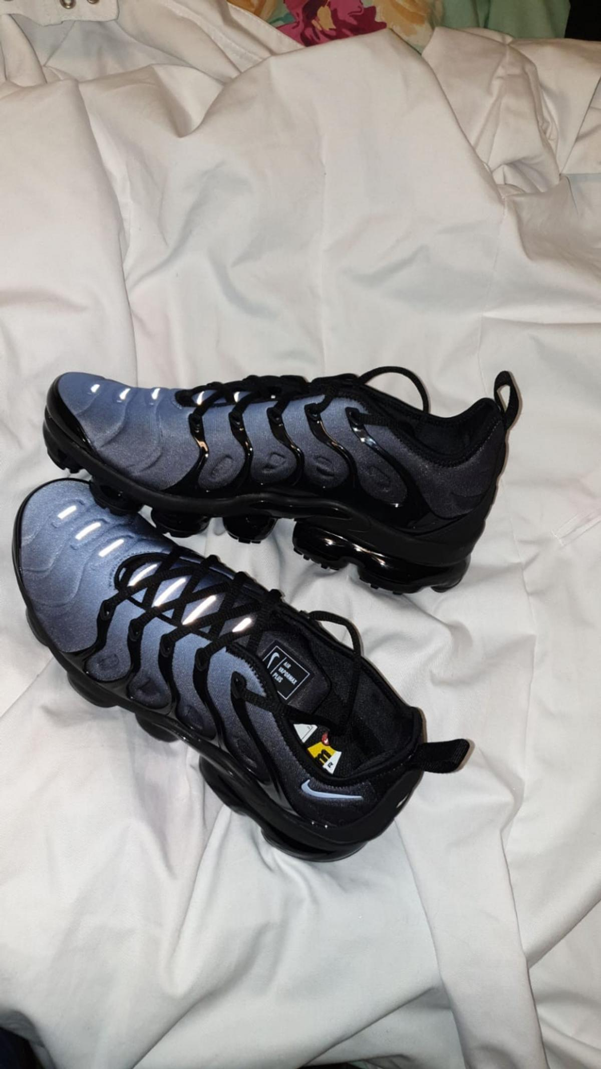 new product 9c060 83711 nike vapormax plus black and blue in M23 Manchester for ...