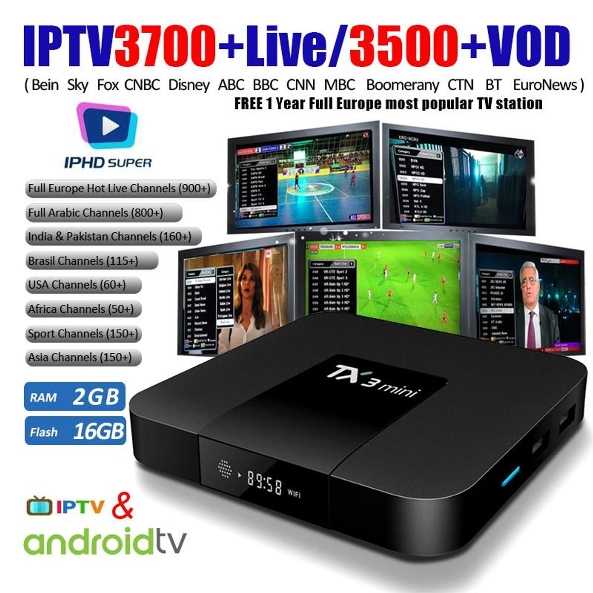 Android tv box & 40