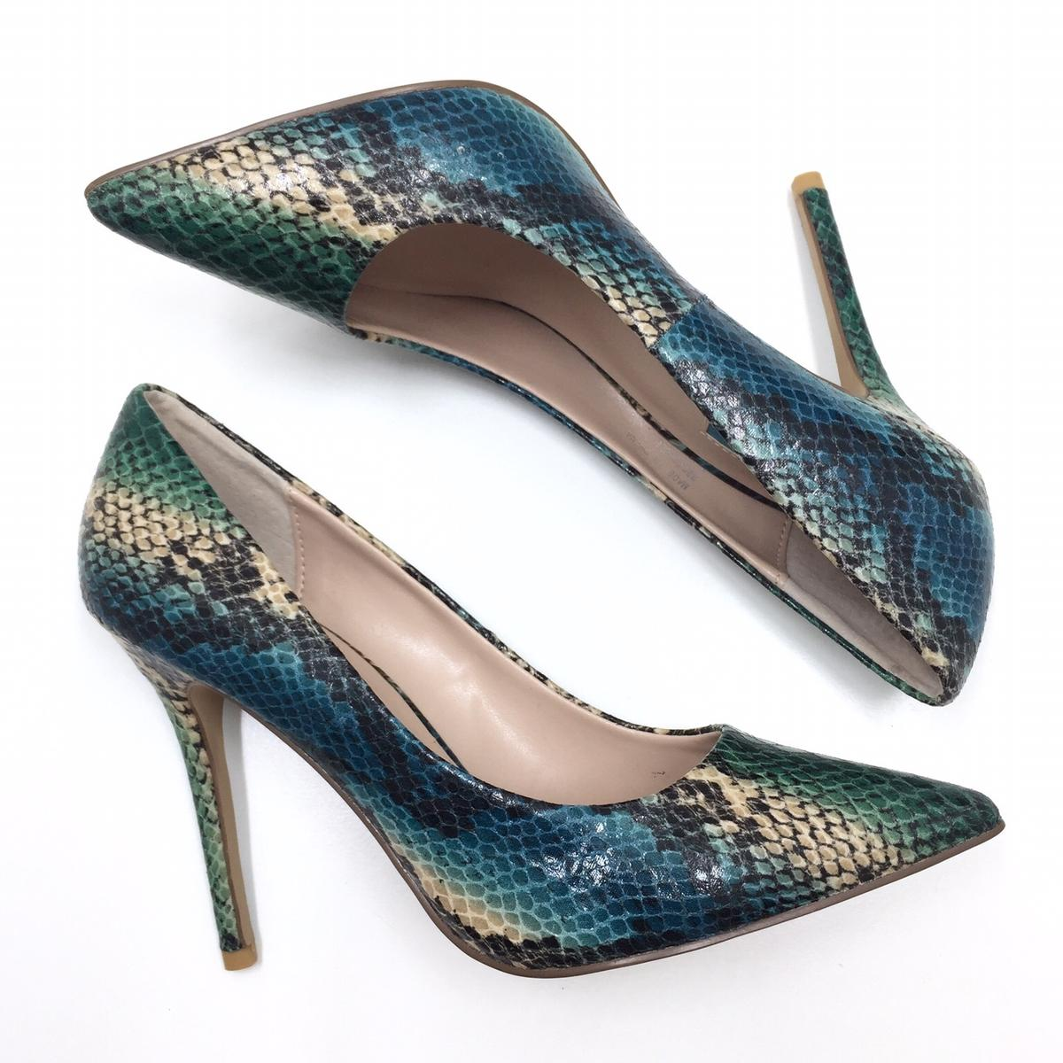 69094b2854f BN Topshop Snakeskin Heels Shoes Size3/36